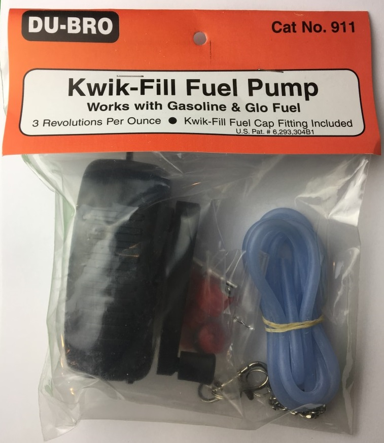 Fuel Pump Set for Gasoline OR Nitro- DuBro