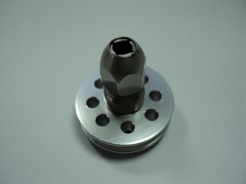 Collet/ Pulley Assembly