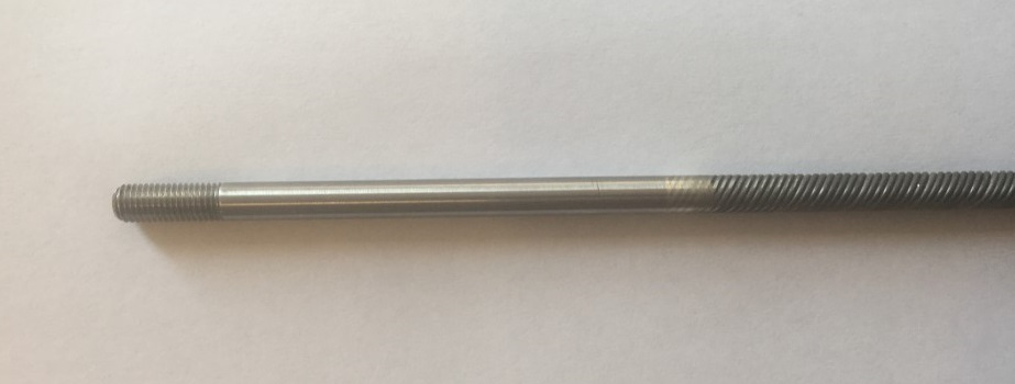 1/4 x 27 Flex Shaft- Short Stub - Click Image to Close