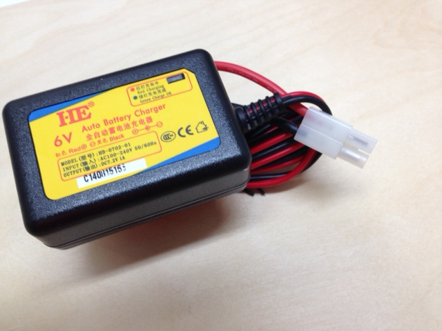6V Automatic Battery Charger