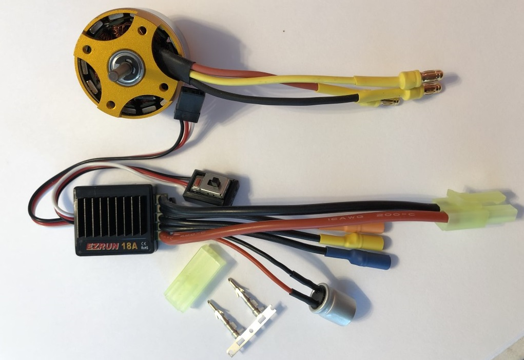 Brushless Tug Power Combo