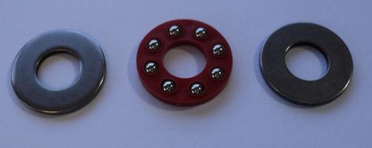 1/4 Inch Thrust Bearing Set