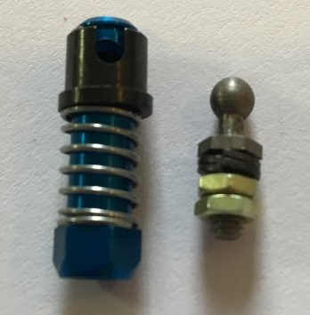 4-40 Aluminum Ball Connector - Click Image to Close