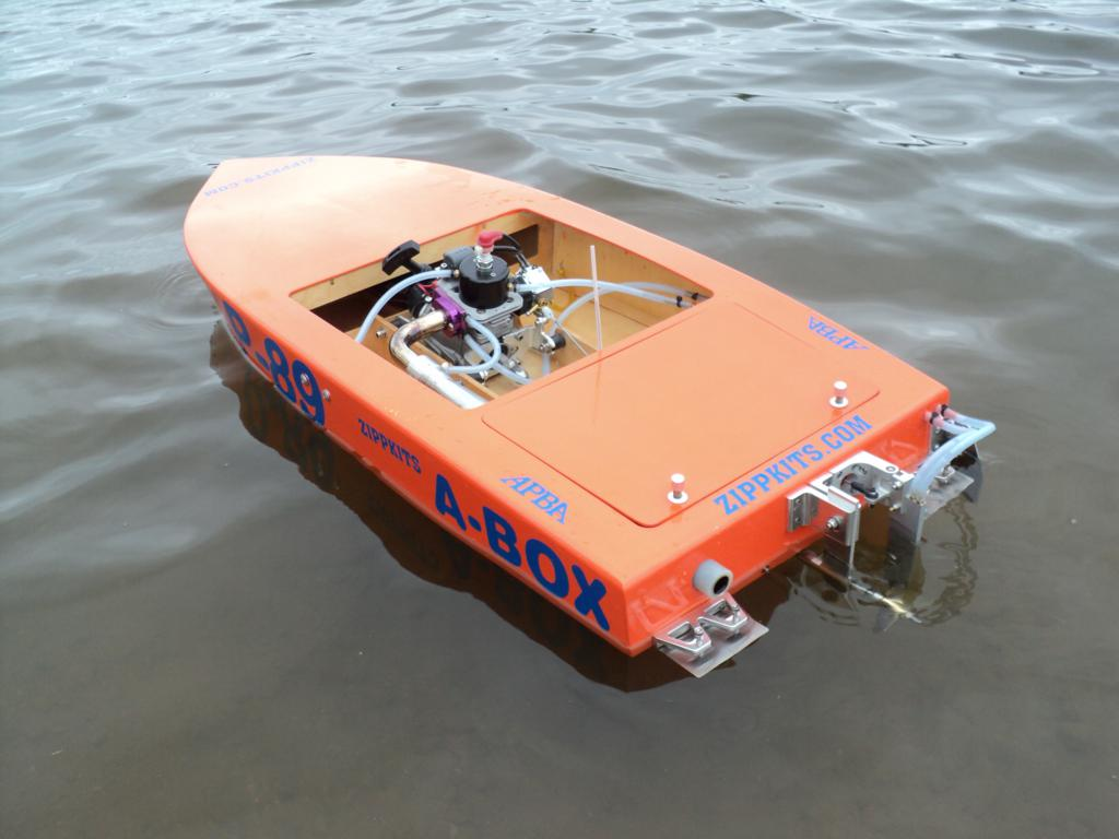 Gas Powered Model Boat Kits --